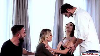 افلام نيك تبادل زوجات اثنين اصدقاء يتبادلون ازواجهم ويتفشخو نيك جامد